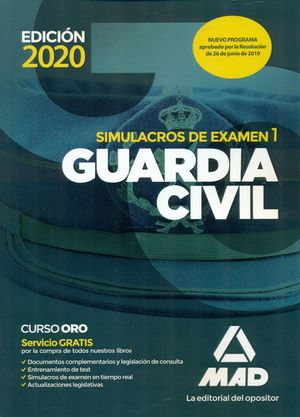 GUARDIA CIVIL SIMULACROS DE EXAMEN 1