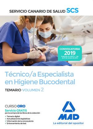 TÉCNICO ESPECIALISTA EN HIGIENE BUCODENTAL DEL SERVICIO CANARIO DE SALUD. TEMA