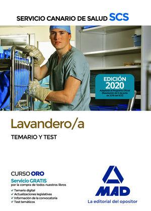 LAVANDERO/A DEL SERVICIO CANARIO DE SALUD. TEMARIO Y TEST