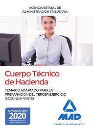 CUERPO TÉCNICO DE HACIENDA. TEMARIO TERCER EJERCICIO (SEGUNDA PARTE)