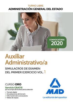 AUXILIAR ADMINISTRATIVO/A DE LA ADMINISTRACIÓN GENERAL DEL ESTADO