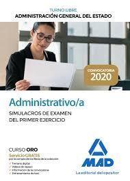 ADMINISTRATIVO/A. SIMULACRO EXAMEN DEL PRIMER EJERCICIO