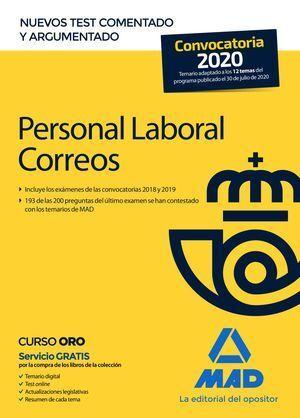 PERSONAL LABORAL CORREOS. TEST