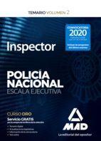 INSPECTOR DE POLICÍA NACIONAL.ESCALA EJECUTIVA. TEMARIO VOLUMEN 2