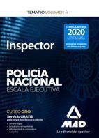INSPECTOR DE POLICÍA NACIONAL.ESCALA EJECUTIVA. TEMARIO VOLUMEN 3