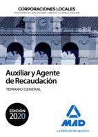 AUXILIAR Y AGENTE DE RECAUDACIÓN. TEMARIO GENERAL