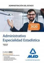ADMINISTRATIVO ESPECIALIDAD ESTADISTICA. TEST