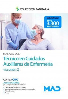 MANUAL DEL TÉCNICO EN CUIDADOS AUXILIARES DE ENFERMERÍA. VOLUMEN 2