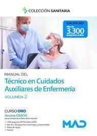 MANUAL DEL TÉCNICO EN CUIDADOS AUXILIARES DE ENFERMERIA. TEST