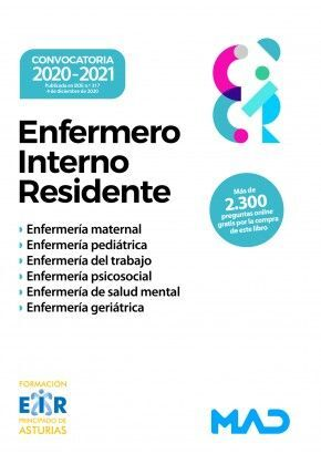 ENFERMERO INTERNO RESIDENTE 2020-2021