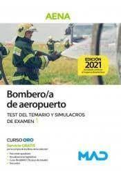 BOMBERO;A DE AEROPUERTO TEST DE TEMARIO Y SIMULACROS DE EXÁMEN 1