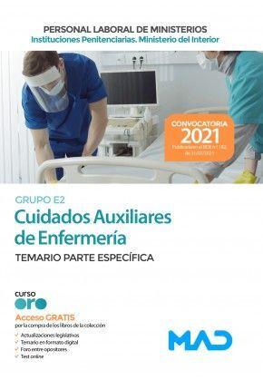 CUIDADOS AUXILIARES DE ENFERMERÍA. GRUPO E2. TEMARIO PARTE ESPECÍFICA