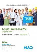 PERSONAL LABORAL DE MINISTERIOS. GRUPO PROFESIONAL M2 (DIPLOMADOS) TEST PARTE COMUN