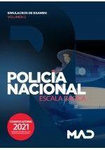 POLICIA NACIONAL ESCALA BASICA SIMULACROS DE EXAMEN VOLUMEN 2 2021