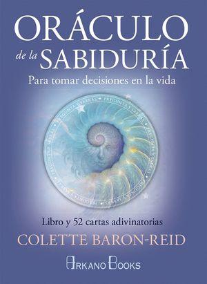 ORACULO DE LA SABIDURIA (LIBRO+CARTAS)