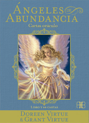 ANGELES DE ABUNDANCIA. CARTAS ORACULO. LIBRO Y 44 CARTAS