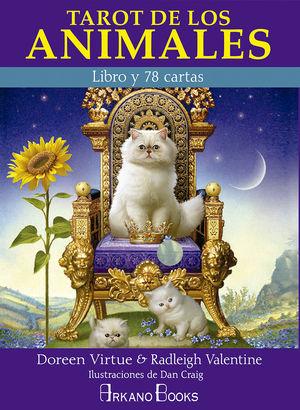 TAROT DE LOS ANIMALES (LIBRO Y 78 CARTAS)