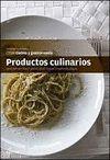 PRODUCTOS CULINARIOS. CFGM COCINA Y GASTRONOMIA