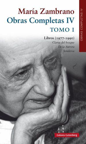 OBRAS COMPLETAS IV T.I LIBROS (1977-1990)