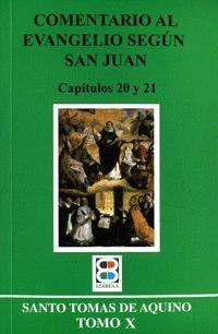 COMENTARIO EVANGELIO SEGUN SAN JUAN T. X