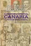ENSAYO EN LA LITERATURA CANARIA Y PRESENTE SOCIOLITERARIO