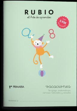 RUBIO VACACIONES 1 PRIMARIA