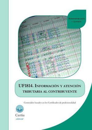 INFORMACIÓN Y ATENCIÓN TRIBUTARIA AL CONTRIBUYENTE UF1814