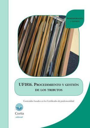 PROCEDIMIENTO DE GESTIÓN DE LOS TRIBUTOS UF1816