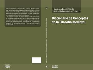 DICCIONARIO DE CONCEPTOS DE LA FILOSOFÍA MEDIEVAL
