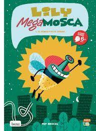 LILY MEGA MOSCA (CUADERNO DE DIBUJO + LAPIZ)