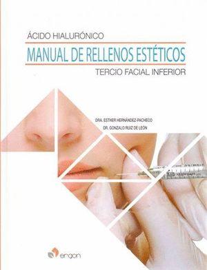 ÁCIDO HIALURÓNICO. MANUAL DE RELLENOS ESTÉTICOS. TERCIO FACIAL INFERIOR