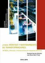MONTAJE Y MANTENIMIENTO DE TRANSFORMADORES UF0896