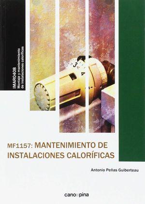 MF1157 MANTENIMIENTO DE INSTALACIONES CALORÍFICAS