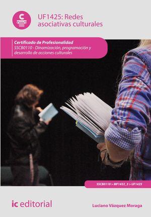 REDES ASOCIATIVAS CULTURALES. SSCB0110 - DINAMIZACIÓN, PROGRAMACIÓN Y DESARROLLO