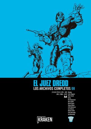 JUEZ DREDD. LOS ARCHIVOS COMPLETOS N.08