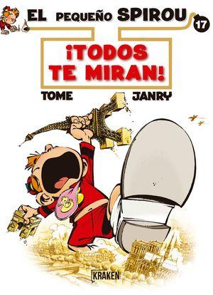 EL PEQUEÑO SPIROU 17 TODOS TE MIRAN