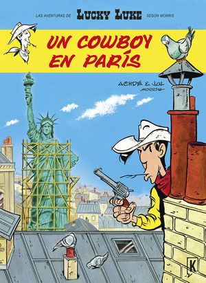 LUCKY LUKE 7 UN COWBOY EN PARIS