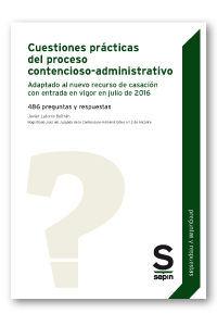 CUESTIONES PRÁCTICAS DEL PROCESO CONTENCIOSO-ADMINISTRATIVO