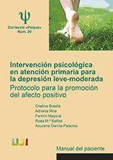 INTERVENCION PSICOLOGICA EN ATENCIÓN PRIMARIA PARA LA DEPRESION LEVE-MODERADA