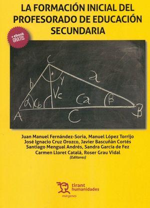 FORMACION INICIAL DEL PROFESORADO DE EDUCACION SECUNDARIA
