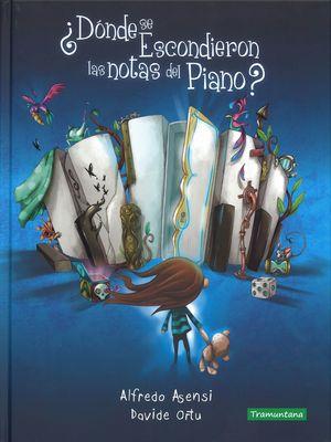 DÓNDE SE ESCONDIERON LAS NOTAS DEL PIANO?
