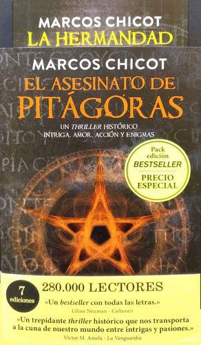 EL ASESINATO DE PITÁGORAS / LA HERMANDAD (PACK)