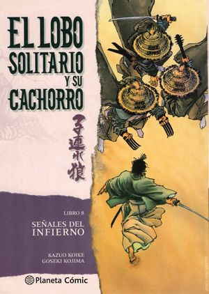 LOBO SOLITARIO Y SU CACHORRO LIBRO 8