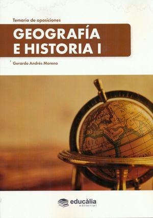 TEMARIO DE OPOSICIONES GEOGRAFÍA E HISTORIA (3 VOL.) + CD