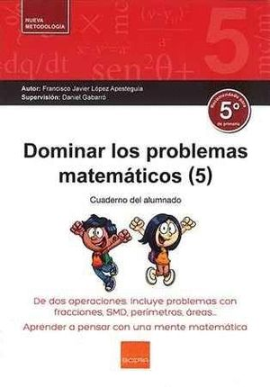 DOMINAR LOS PROBLEMAS MATEMÁTICOS (5)