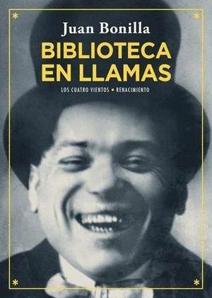 BIBLIOTECA EN LLAMAS