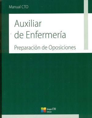 MANUAL CTO DE AUXILIARES DE ENFERMERIA - PREPARACION DE OPOSICIONES