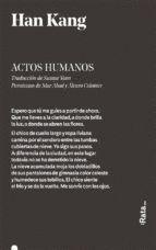 ACTOS HUMANOS