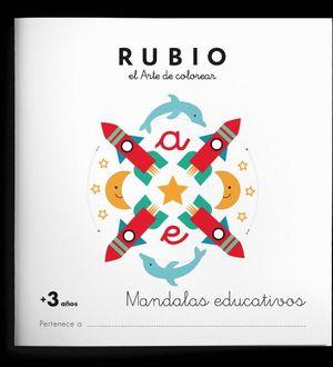 RUBIO EL ARTE DE COLOREAR. MANDALAS EDUCATIVOS + 3 AÑOS