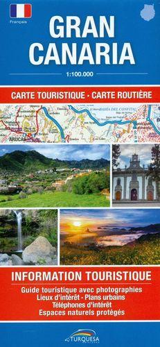 MAPA GRAN CANARIA 1:100.000 - FRANCÉS